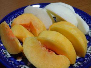 西三川産 りんご 黄金桃