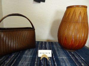本田青海さん 竹工芸