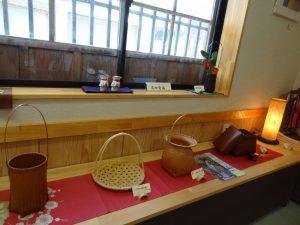 美しい 竹の工芸