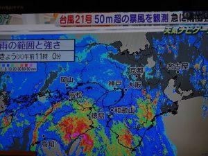 大雨 と 台風
