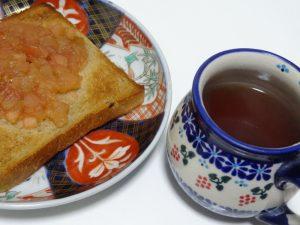アップルジャム 紅茶