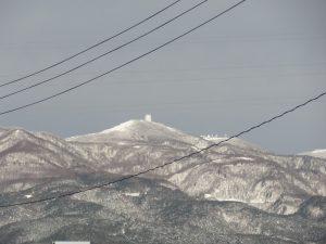 金北山 の 雪
