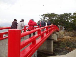 津神神社 橋