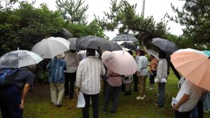 浦島さんの越の松原の庭