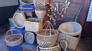 生活の道具として活躍した籠
