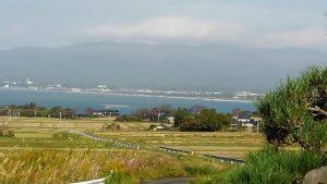 山里からの風景