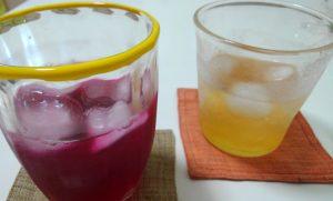 紫蘇ジュース 梅シロップ