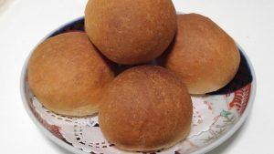 柿餅粉 丸パン