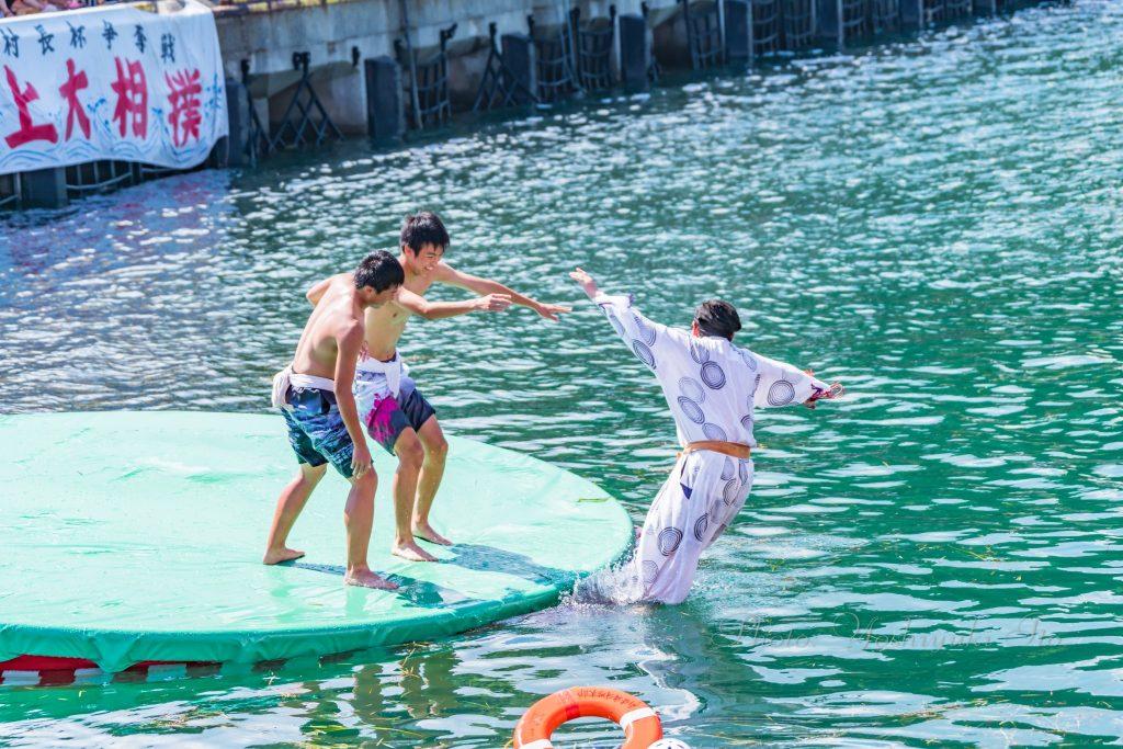 日本海海上大相撲