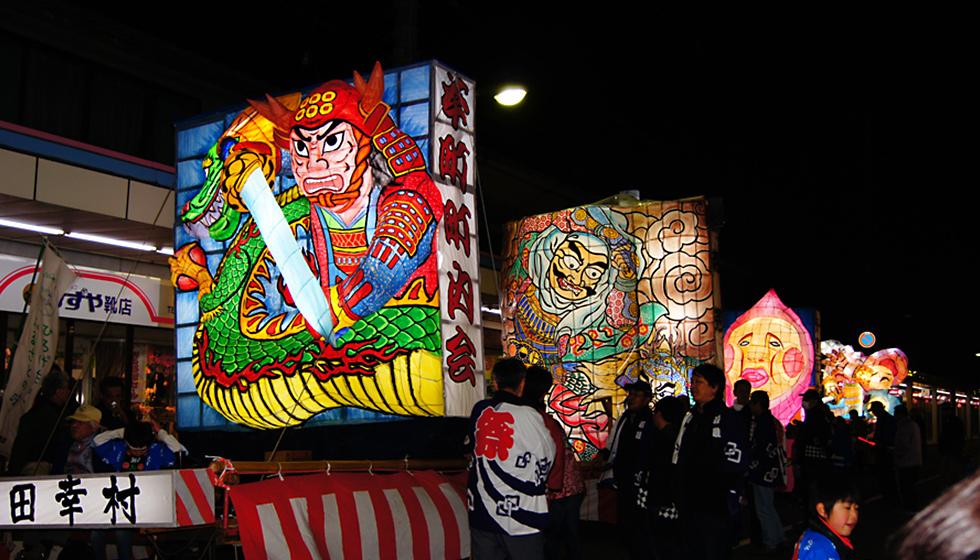 諏訪神社例大祭(万燈まつり)