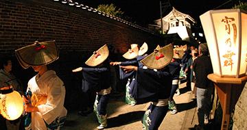 京町音頭流し 「宵乃舞」