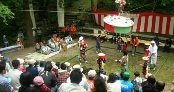 赤玉杉池祭り