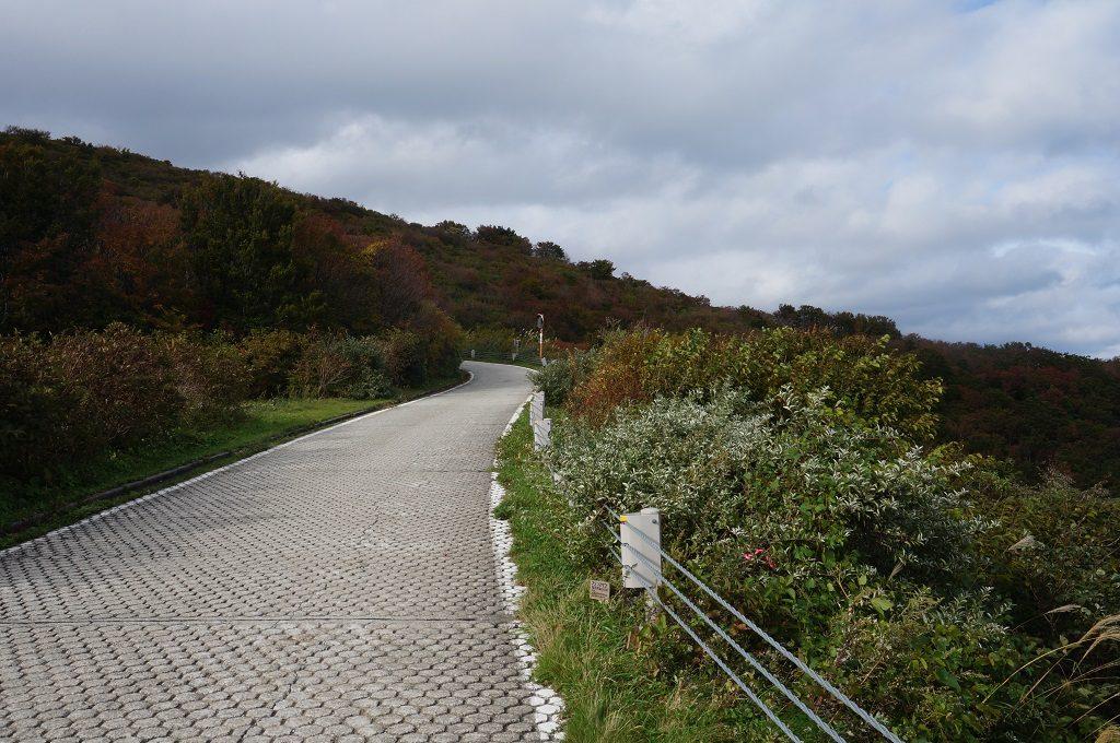 ドンデン山道